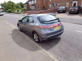 2006 Honda Civic, Cosmic Grey, 2.2 CDTi Diesel, 79000 miles, Only 2 Previous Owners, Service History