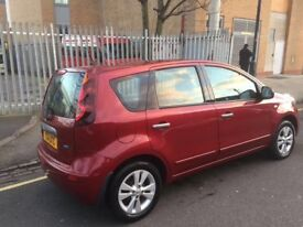NISSAN NOTE 2001 MANUAL, 1.4 PETROL, WITH SATNAV, BLUETOOTH IN EXCELLENT CONDITION