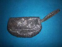 Metallic Beaded Clutch Bag IP1