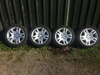 "Genuine Mercedes Alloy Wheels 17"" ref.10"