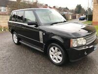 2006 Land Rover Range Rover 3.0 Td6 Vogue SE 5dr Auto @07445775115