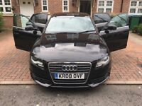 2008 Audi A4 Tdi S-line 18 alloys, new tyres, S4 styling PX swap Part exchange welcome