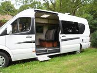 Campervan Camper Van Hire, 4 berth, Mercedes Sprinter Norwich Norfolk