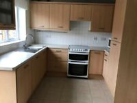 Kitchen units Beech effect