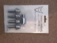 Wolfrace Wheels - Locking Wheel Nuts (12mm x 1.75)