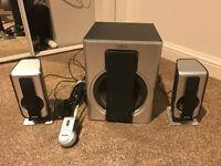 Philips Multimedia subwoofer Speakers 2.1