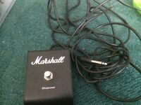 Marshall switch channel pedal