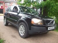 Volvo XC90 2.4 TD D5 S Geartronic 5dr AUTO + 1/2 LEATHER + 7 SEATER 2004 (54 reg), SUV