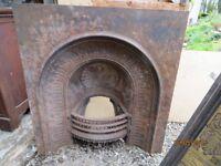 Georgian cast iron insert