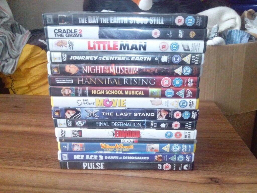DVD Bundle 15 Total, Mix Genre