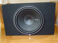 Sub Woofer Rockford Fosgate Punch P2D4-12 - Box - Pioneer Amplifier