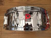 Vintage 80's Premier 14x5 Steel Snare Drum