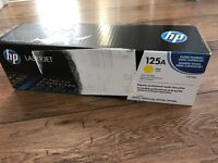 HP 125A Toner - Yellow - Genuine - New