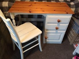 Dressing table / Desk and Chair