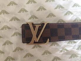 Louis Vuitton belt ladies