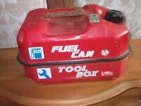 petrolcan/tool box