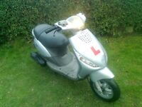 Piaggio Zip 50cc 4 stroke scooter. Ideal learner or commuter. Lovely condition. Full mot.