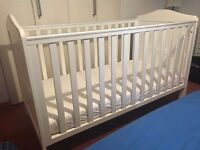 Mothercare Darlington Cotbed plus mattress