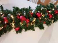 NOW TAKING ORDERS FOR CHRISTMAS WREATHS AND GARLANDS