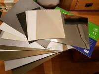 Various art materials paper A2 sketch pad