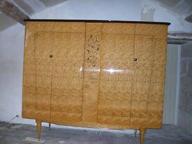 Art Deco revival (1950's/60's) cupboard