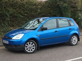 2005 FORD FIESTA FIREFLY, 1.2 ENGINE, 5 DOORS, ONE OWNER FROM NEW & FULL SERVICE HISTORY