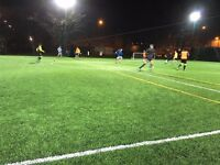 3G 7-a-side league on a Sunday evening in Shoreditch