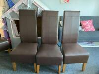 4 x next Hartford dining chairs - good condition.