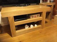 Oak furniture land TV table