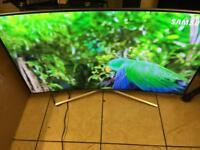 "Samsung 49"" curved 4k smart LED Tv wi-fi Warranty"
