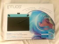 WACOM Intuos Art Medium - Mint Blue - Brand new & sealed