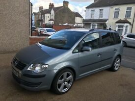 VW TOURAN 2007 1.6 petrol