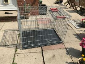Large dog crate/cage for sale