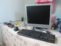 Keyboard - Monitor - Mouse - Assorted cables/leads