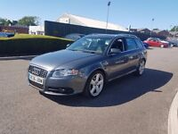 2006 AUDI A4 AVANT 2.0TDI S LINE,6 SPEED MANUAL,1 FORMER KEEPER,2 KEYS,07716710529