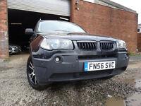 56 BMW X3 SE 2.0 DIESEL 4X4,MOT NOV 017,3 OWNERS FROM NEW,2 KEYS,PART HISTORY,STUNNING FAMILY 4X4