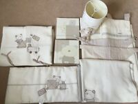 Mamas and Papas 'Bedtime Hugs' Nursery Set