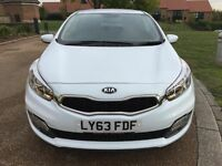 KIA PRO CEED VR7 1.4 *Low Miles, FSH, HPI Clear, Genuine, White Petrol Manual Bargain Clearance*