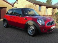 MINI ONE 1.4 3DR RED 1YRS MOT,CLICK ON VIDEO LINK TO SEE MORE DETAILS