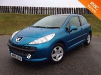 2008 PEUGEOT 207 CEILO 1.4 8V - 45K MILES - 5 STAR SAFETY RATING - TOP SPEC - 3 MONTHS WARRANTY