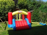 Little Tikes Jump N Slide Bouncy Castle - great fun to play on in the garden or for a summer party