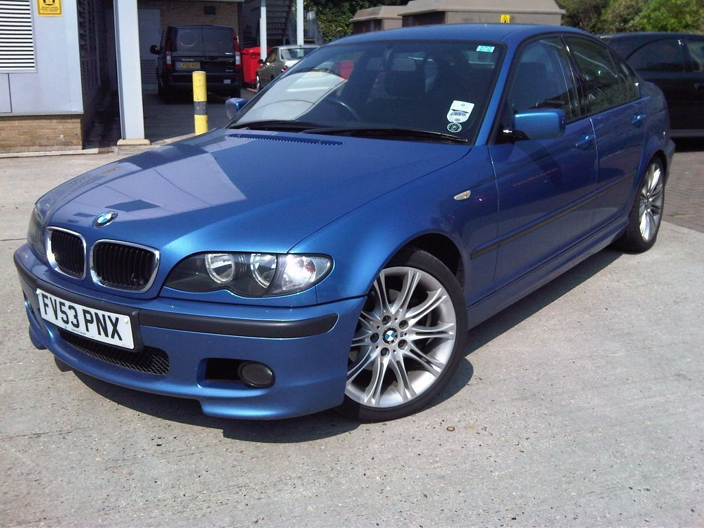 bmw 320d sport individual spec 2003 53 reg estoril blue 150bhp in ilford london gumtree. Black Bedroom Furniture Sets. Home Design Ideas