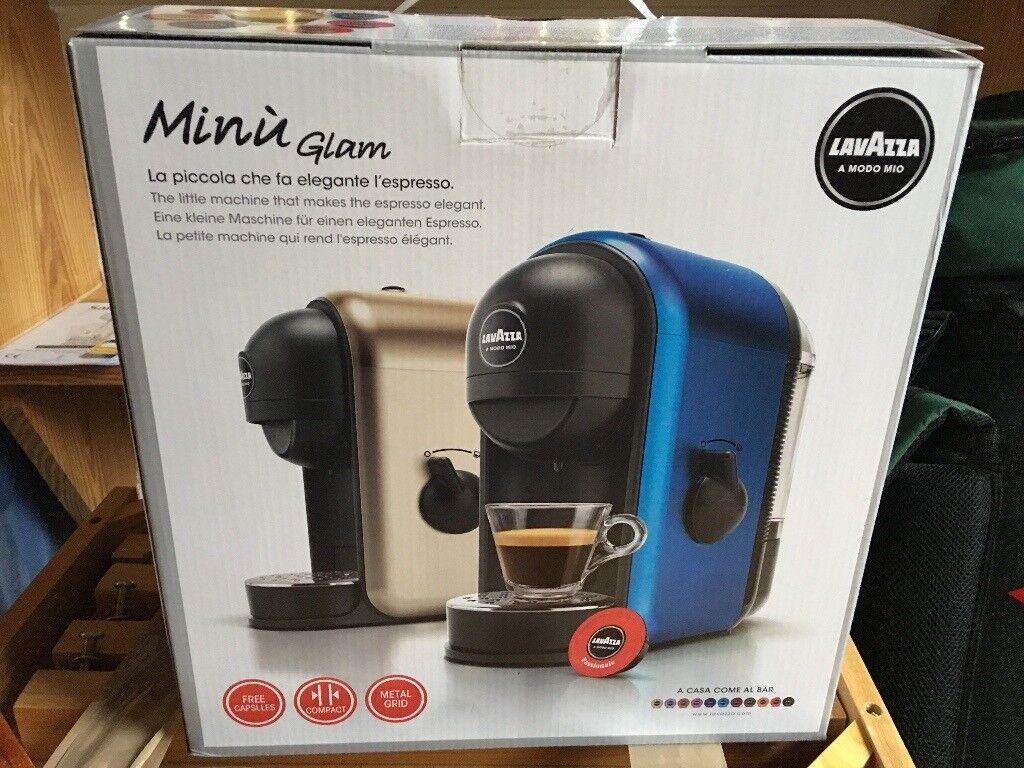 Coffee Machine, Lavazza Minu Glam