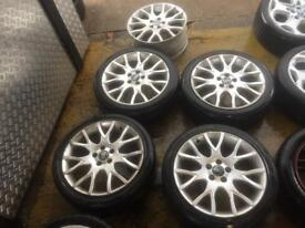 "18"" GENUINE VOLVO MERDUSA ALLOY WHEELS SET OF 4 RLINE"