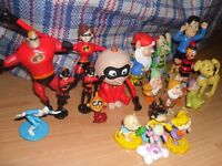 BUNCH OF DISNEY CHARACTER TOYS