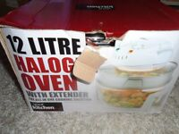 12 Litre Halogen Oven - As New