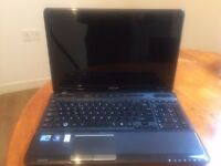 Toshiba Satellite (Intel Core i7 + 6 GB + 500 GB + Built in webcam+ Windows 7 + Good condition)