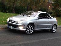 * Bargain * 2005 Peugeot 206 CC SPORT 1.6 Manual Petrol - LOW MILEAGE - PX WELCOME