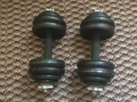 Big dumbells £30 chadwell heath