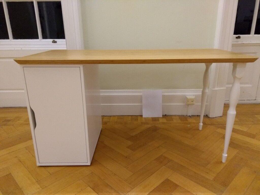 Elegant ikea hilver alex desk or table vgc in cambridge